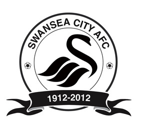 [CARRIERE MANAGER] Swansea City  Swans-100-logo