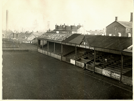 The Centre Stand at the Vetch. Undated
