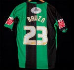 2007-08 Guillem Bauza back (third kit)