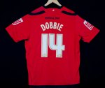 2009-10 Stephen Dobbie back (away)