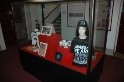 Objects donated by fans, and from the museum collection