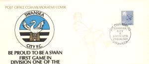 First Day Cover issued by the Post Office on the occasion of the Swans' promotion to the First Division in 1981. Brought in by Leighton Radford