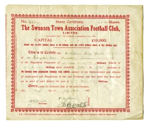 shares certificate