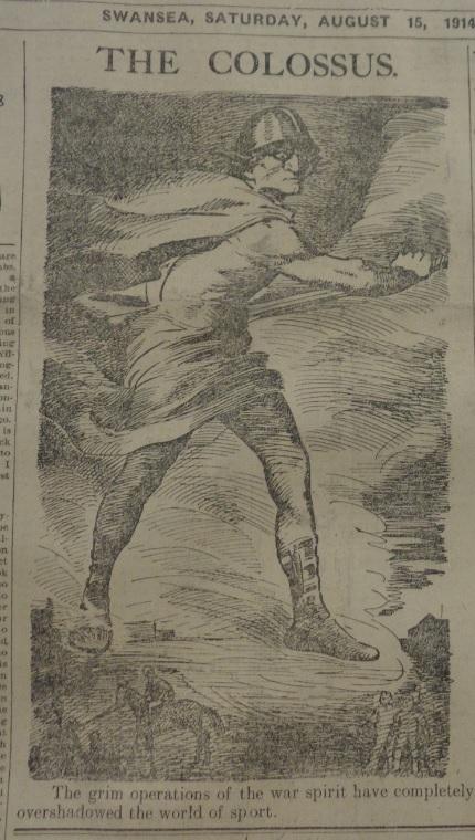 sporting news 15 aug 1914
