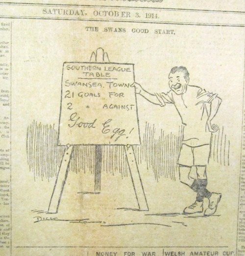 SWDP1914-10-03 Cartoon - Swans good start (3)