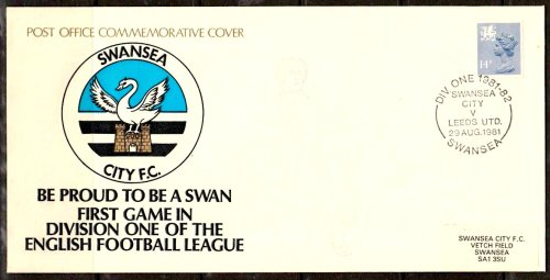 post office cover 1981